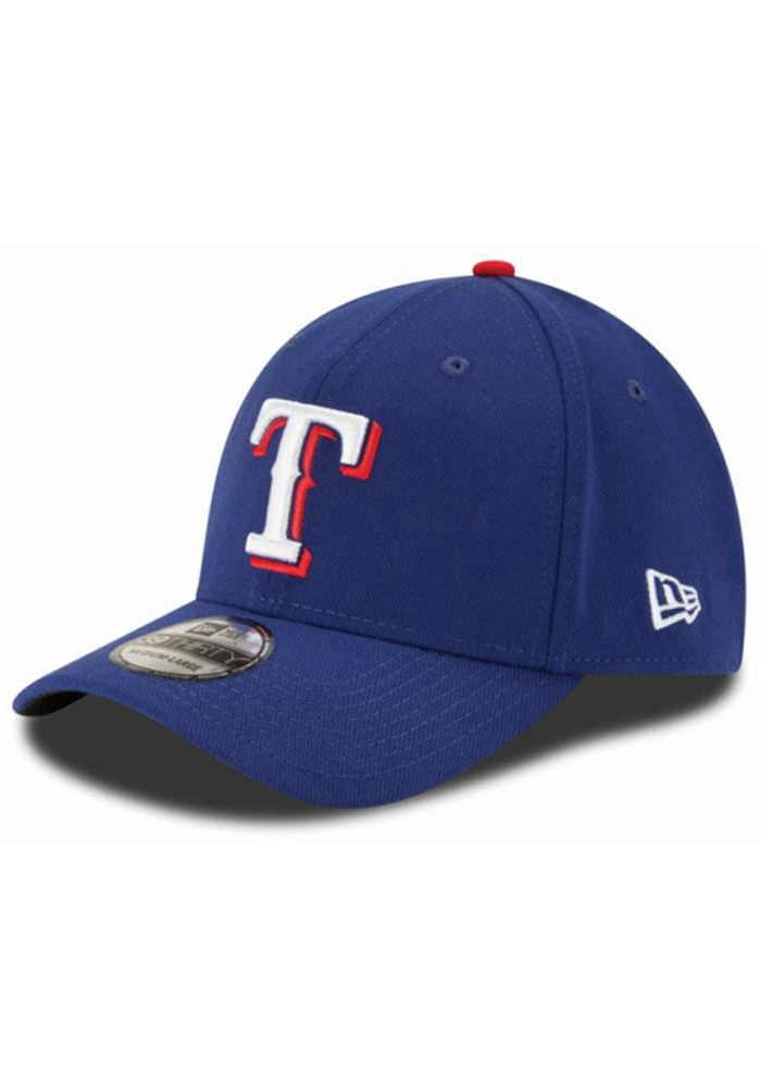 New Era Texas Rangers Blue Game Team Classic 39THIRTY Adjustable Toddler Hat - Image 1