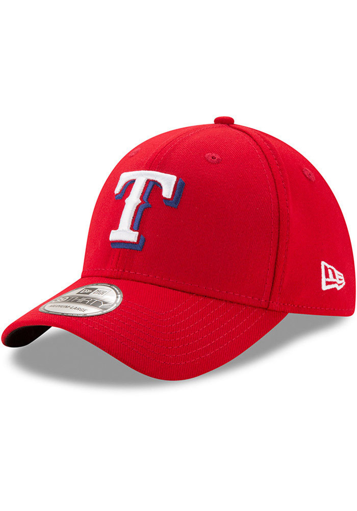 New Era Texas Rangers Red Alt Team Classic 39THIRTY Adjustable Toddler Hat - Image 1