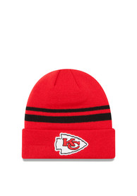 New Era Kansas City Chiefs Red Cuff Knit Hat