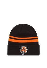 low priced 61078 02937 New Era Cincinnati Bengals Black Cuff Knit Hat