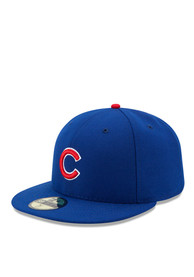 Chicago Cubs New Era Blue AC 59FIFTY Fitted Hat