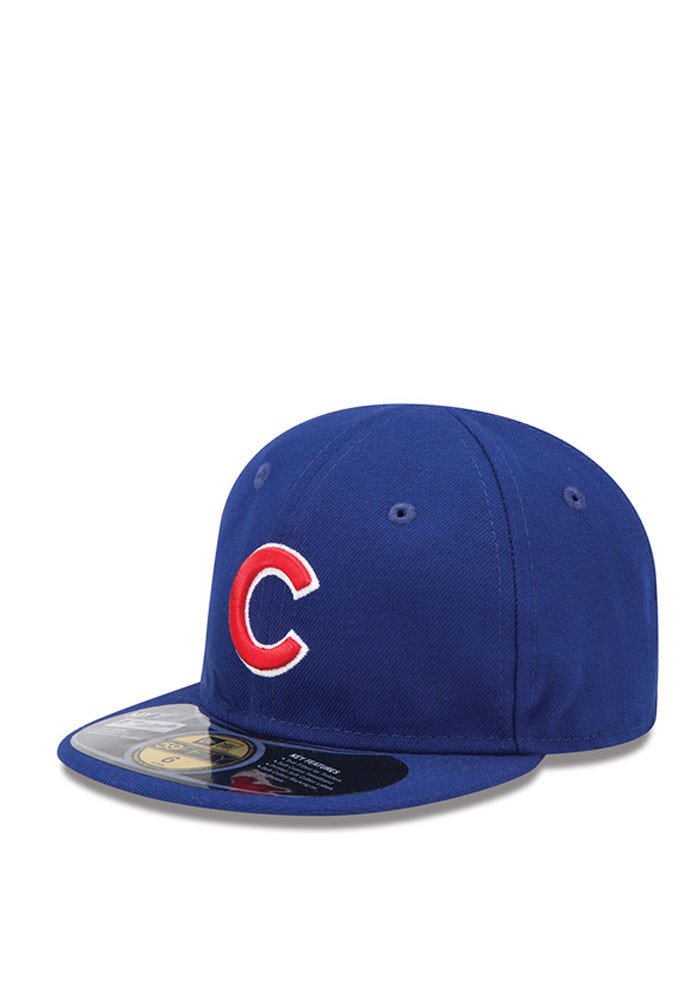 New Era Chicago Cubs Blue My 1st 59FIFTY Infant Adjustable Hat - Image 1