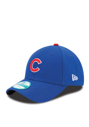 New Era Chicago Cubs Blue The League 9FORTY Adjustable Hat 2b53a19280a