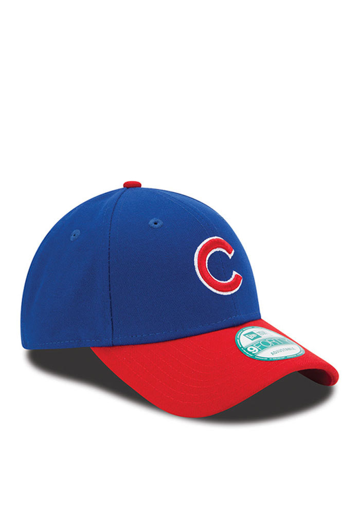 New Era Chicago Cubs Mens Blue The League 9FORTY Adjustable Hat - Image 2