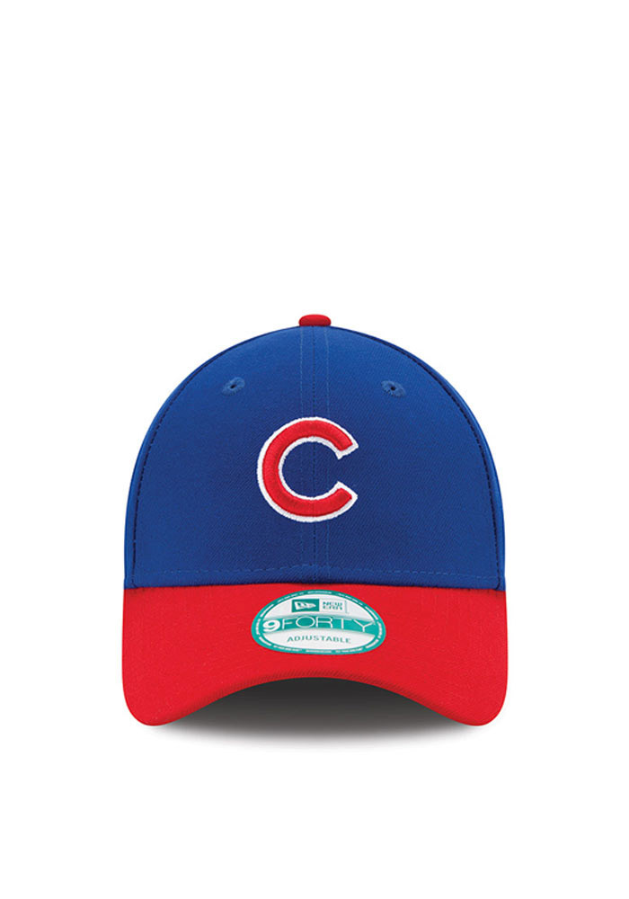 New Era Chicago Cubs Mens Blue The League 9FORTY Adjustable Hat - Image 3