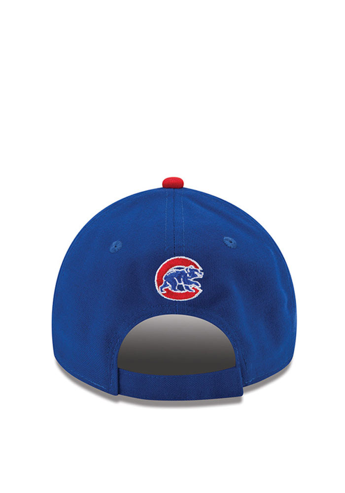 New Era Chicago Cubs Mens Blue The League 9FORTY Adjustable Hat - Image 4