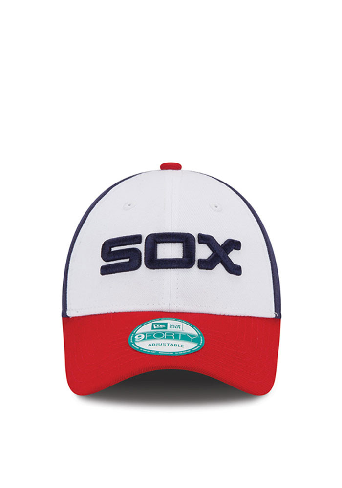 New Era Chicago White Sox Mens Navy Blue The League 9FORTY Adjustable Hat - Image 3