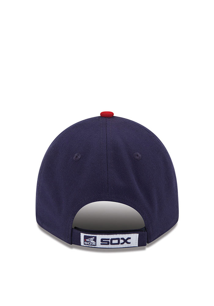 New Era Chicago White Sox Mens Navy Blue The League 9FORTY Adjustable Hat - Image 4