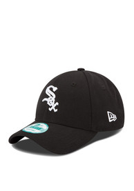 Chicago White Sox Black The League 9FORTY Youth Adjustable Hat