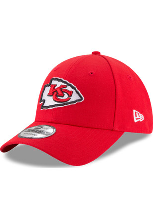 New Era Kansas City Chiefs Mens Red The League 9FORTY Adjustable Hat