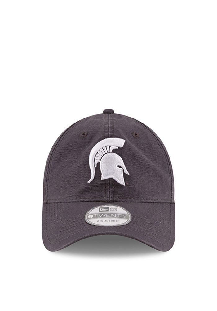 New Era Michigan State Spartans Mens Grey Grayed Shore 9TWENTY Adjustable Hat - Image 2
