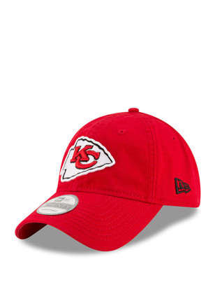 New Era Kansas City Chiefs Mens Red Core Shore 9TWENTY Adjustable Hat