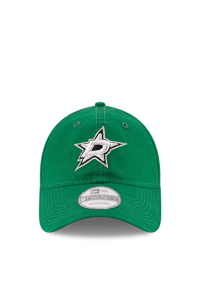 New Era Dallas Stars Mens Green Core Shore 9TWENTY Adjustable Hat - Image 2