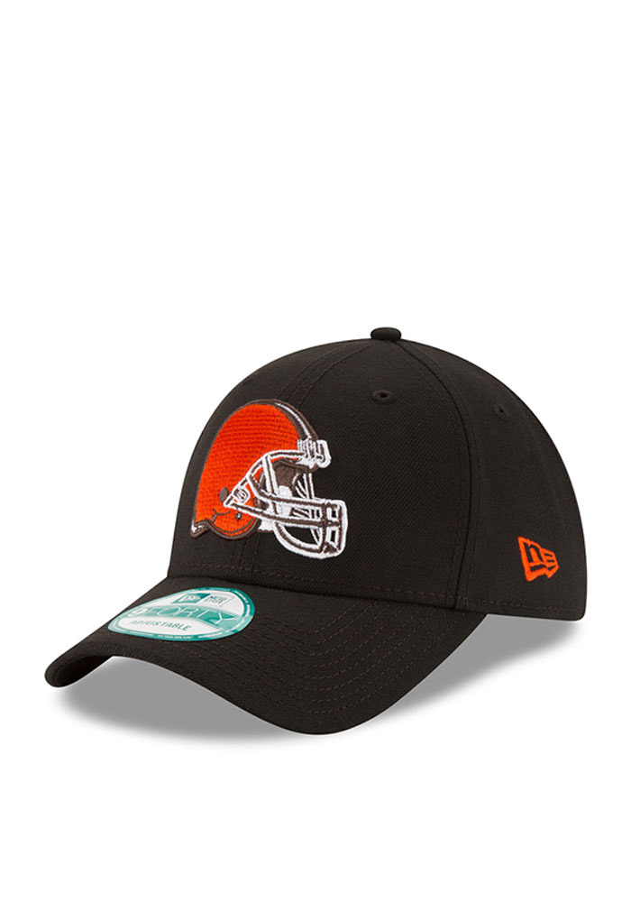 New Era Cleveland Browns Mens Grey The League 9FORTY Adjustable Hat - Image 1