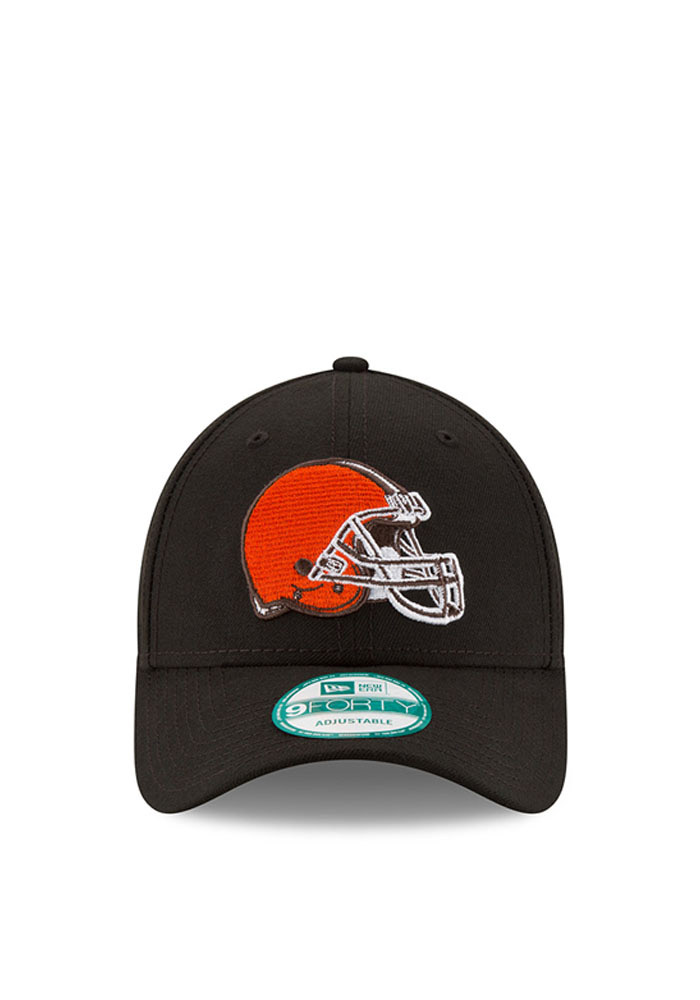 New Era Cleveland Browns Mens Grey The League 9FORTY Adjustable Hat - Image 2