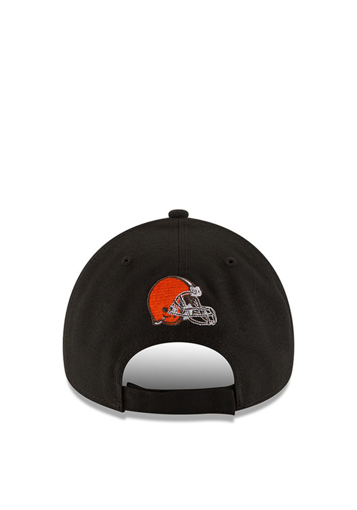 New Era Cleveland Browns Mens Grey The League 9FORTY Adjustable Hat - Image 3