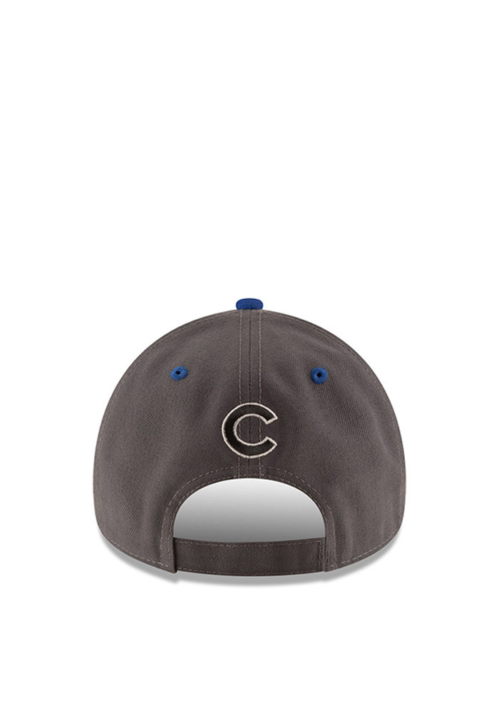 New Era Chicago Cubs Mens Grey The League Shadow 9FORTY Adjustable Hat - Image 3