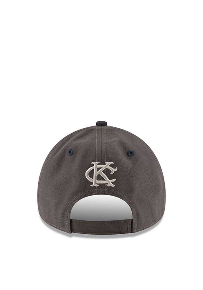 New Era Kansas City Athletics Mens Grey The League Shadow 9FORTY Adjustable Hat - Image 3