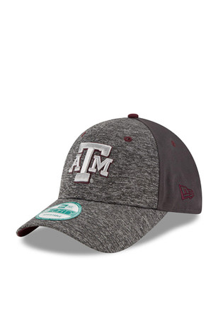 New Era Texas A&M Aggies Mens Grey The League Shadow 9FORTY Adjustable Hat