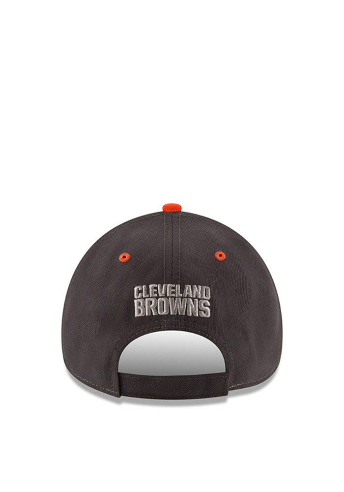 on sale bec1d 85f50 ... promo code for new era cleveland browns mens grey the league shadow 9forty  adjustable hat image