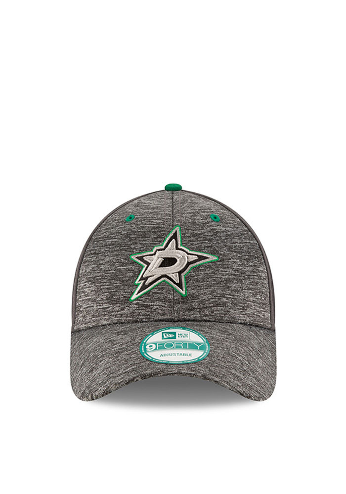 New Era Dallas Stars Mens Grey The League Shadow 9FORTY Adjustable Hat - Image 2
