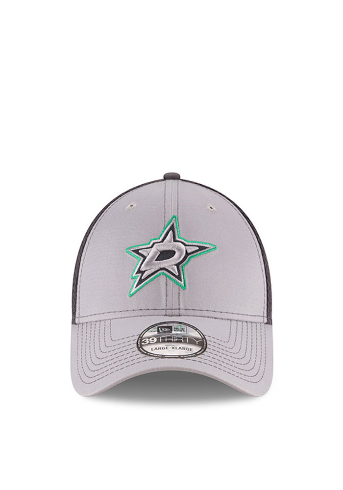New Era Dallas Stars Mens Grey Grayed Out Neo 2 39THIRTY Flex Hat - Image 2