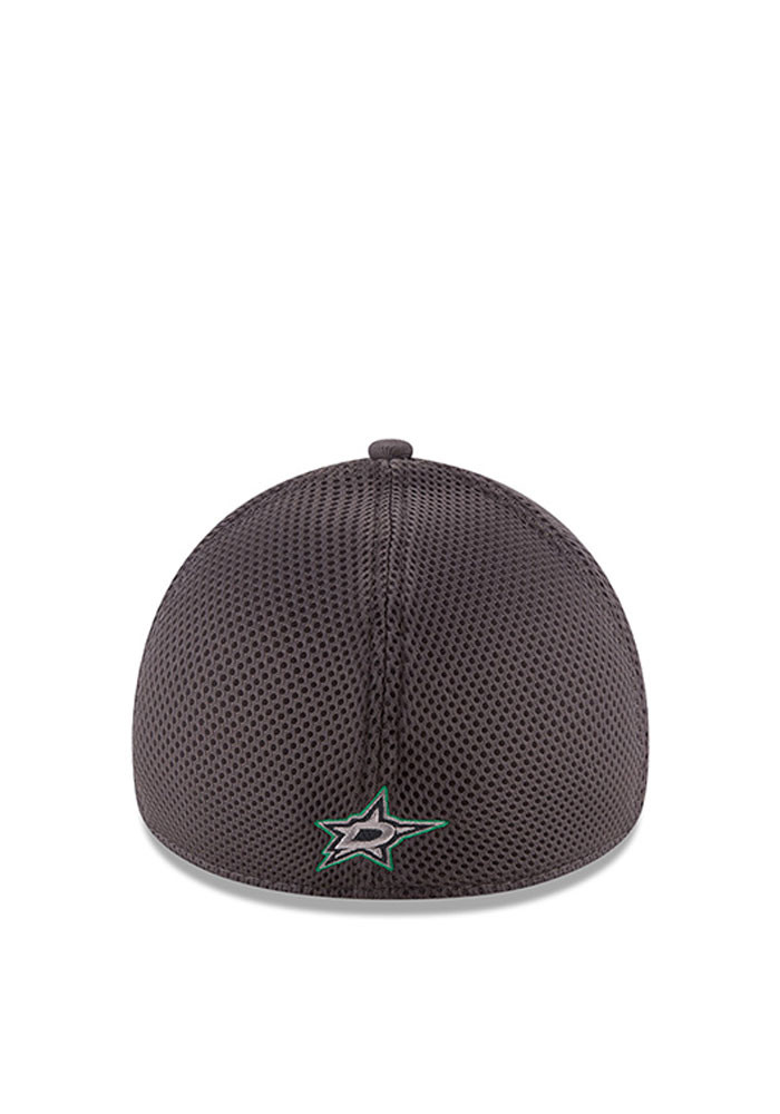 New Era Dallas Stars Mens Grey Grayed Out Neo 2 39THIRTY Flex Hat - Image 3