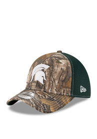 New Era Michigan State Spartans Green Realtree Neo 39THIRTY Flex Hat