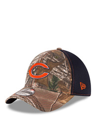 New Era Chicago Bears Green Realtree Neo 39THIRTY Flex Hat