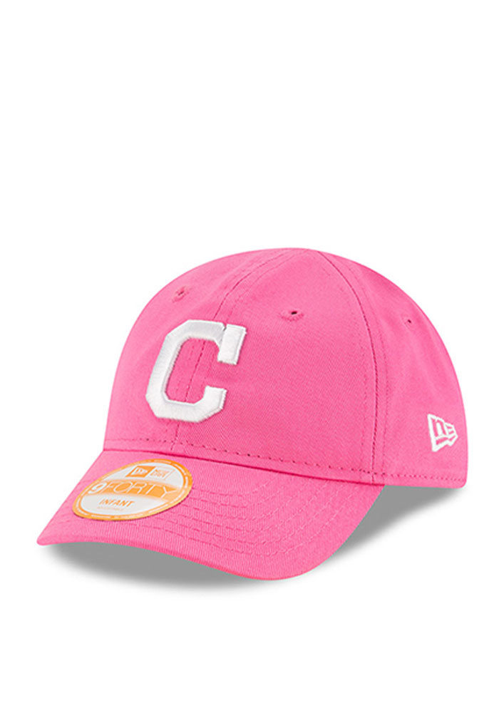 the best attitude 2ad6e d3ecd ... discount code for new era cleveland indians pink my 1st 9forty infant  adjustable hat image 1