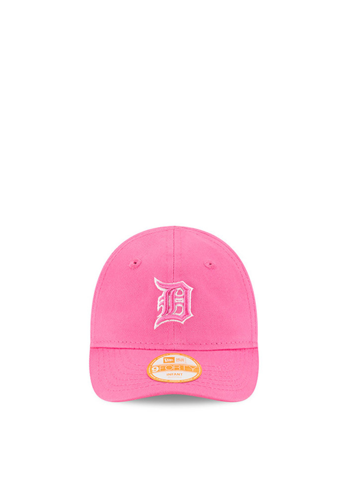 New Era Detroit Tigers Pink My First 9Forty Infant Adjustable Hat - Image 2