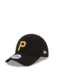 Pittsburgh Pirates Baby New Era My 1st 9FORTY Adjustable Hat - Black