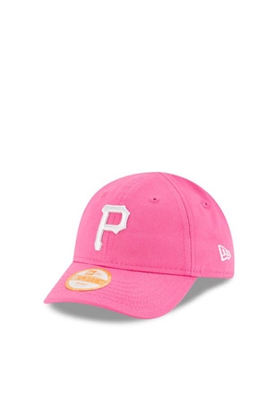 New Era Pittsburgh Pirates Pink My 1st 9FORTY Infant Adjustable Hat