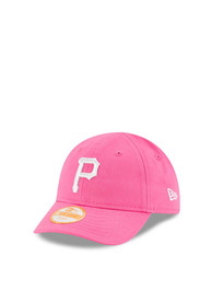 Pittsburgh Pirates Baby New Era My 1st 9FORTY Adjustable Hat - Pink