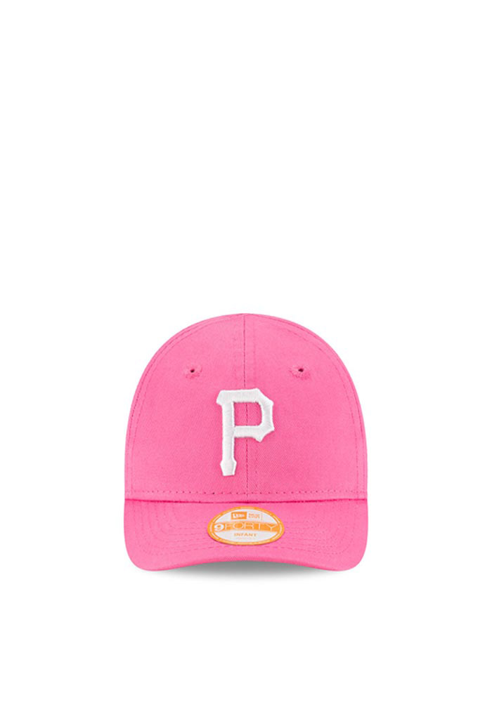 competitive price 55554 8bc4d New Era Pittsburgh Pirates Baby My 1st 9FORTY Adjustable Hat - Pink - Image  2