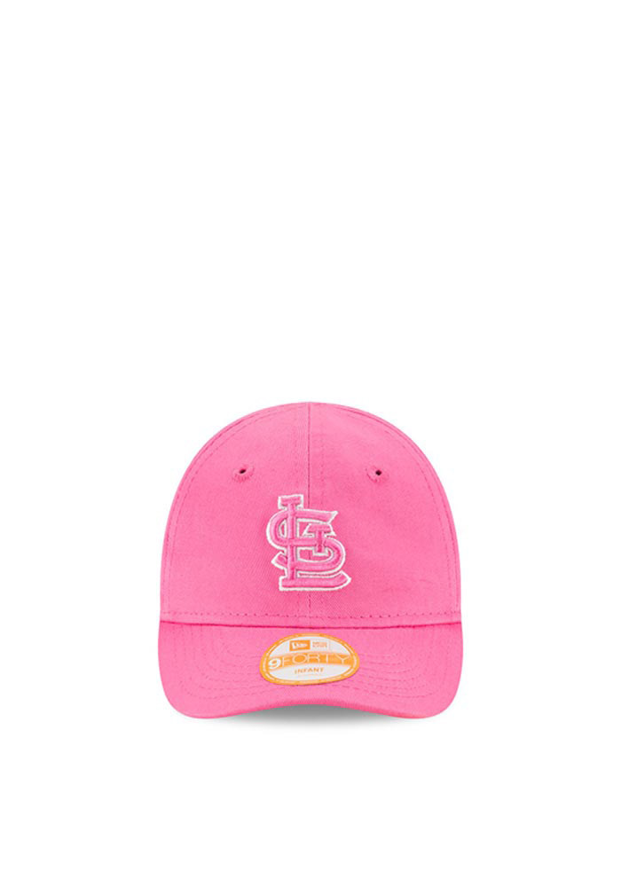 New Era St Louis Cardinals Pink My First 9Forty Infant Adjustable Hat - Image 2