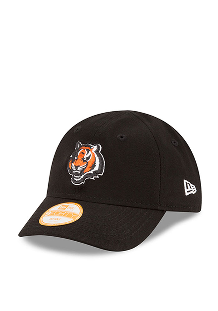 New Era Cincinnati Bengals Baby My First 9 Forty Adjustable Hat - Black - Image 1