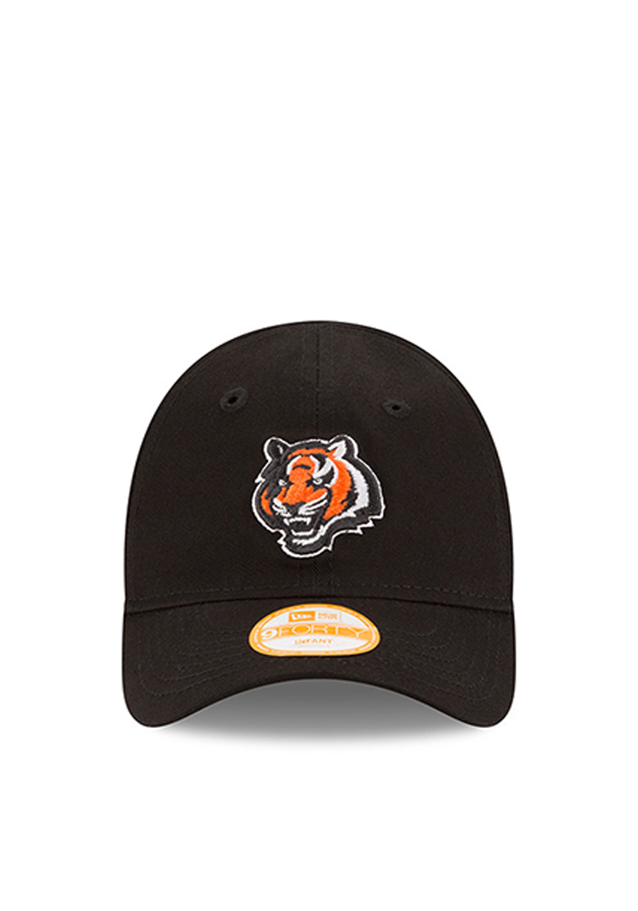 New Era Cincinnati Bengals Baby My First 9 Forty Adjustable Hat - Black - Image 2