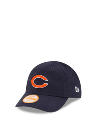 New Era Chicago Bears Baby My 1st 9FORTY Adjustable Hat - Navy Blue