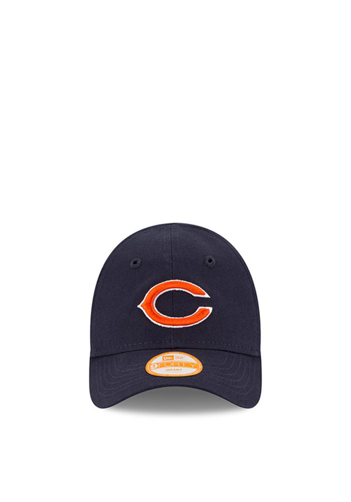 New Era Chicago Bears Baby My 1st 9FORTY Adjustable Hat - Navy Blue - Image 2
