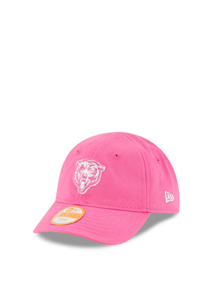 New Era Chicago Bears Pink My 1st 9FORTY Infant Adjustable Hat