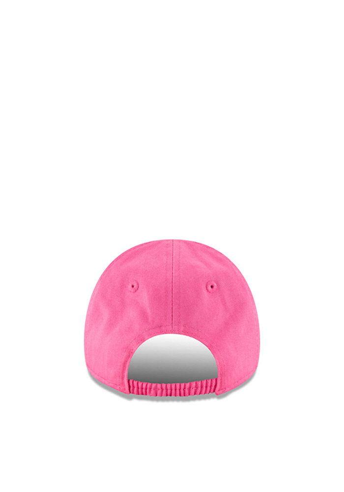 New Era Chicago Bears Baby My 1st 9FORTY Adjustable Hat - Pink - Image 3