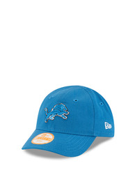 New Era Detroit Lions Baby My 1st 9FORTY Adjustable Hat - Blue