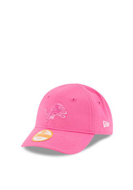 New Era Detroit Lions Baby My 1st 9FORTY Adjustable Hat - Pink