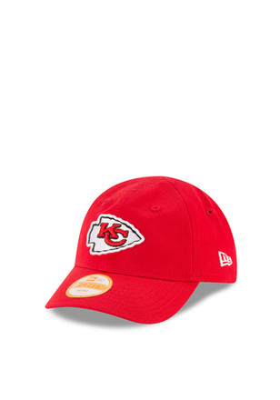 New Era Kansas City Chiefs Red My 1st 9FORTY Infant Adjustable Hat