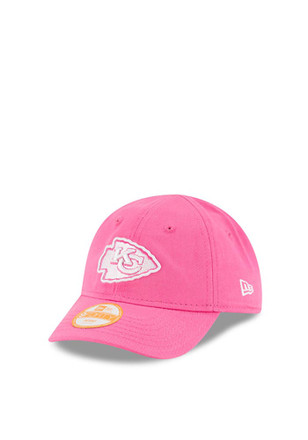 New Era Kansas City Chiefs Pink My 1st 9FORTY Infant Adjustable Hat