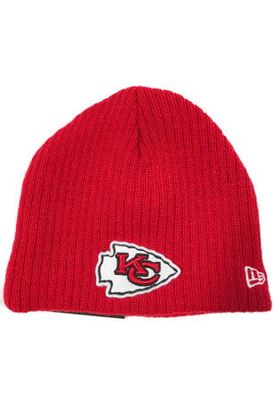 New Era KC Chiefs Blue My First Knit Baby Knit Hat