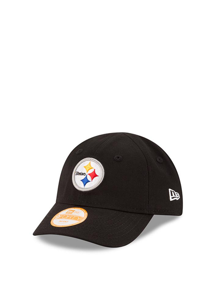 New Era Pittsburgh Steelers Black My 1st 9FORTY Infant Adjustable Hat - Image 1
