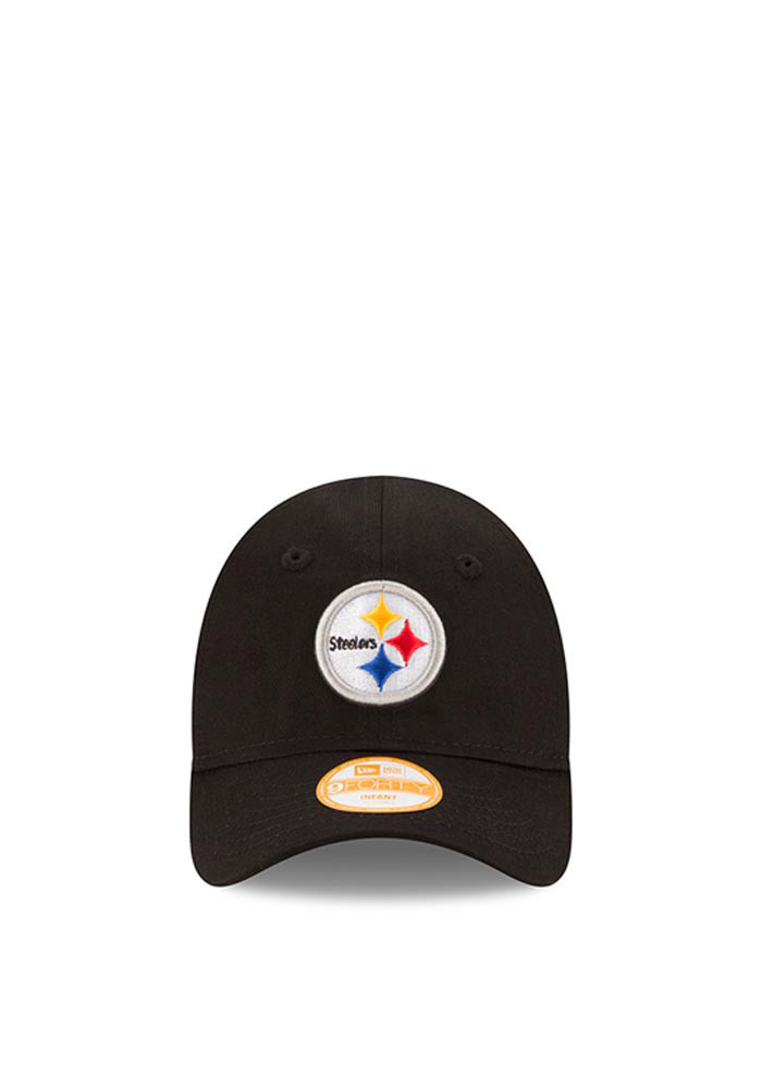 New Era Pittsburgh Steelers Black My 1st 9FORTY Infant Adjustable Hat - Image 2