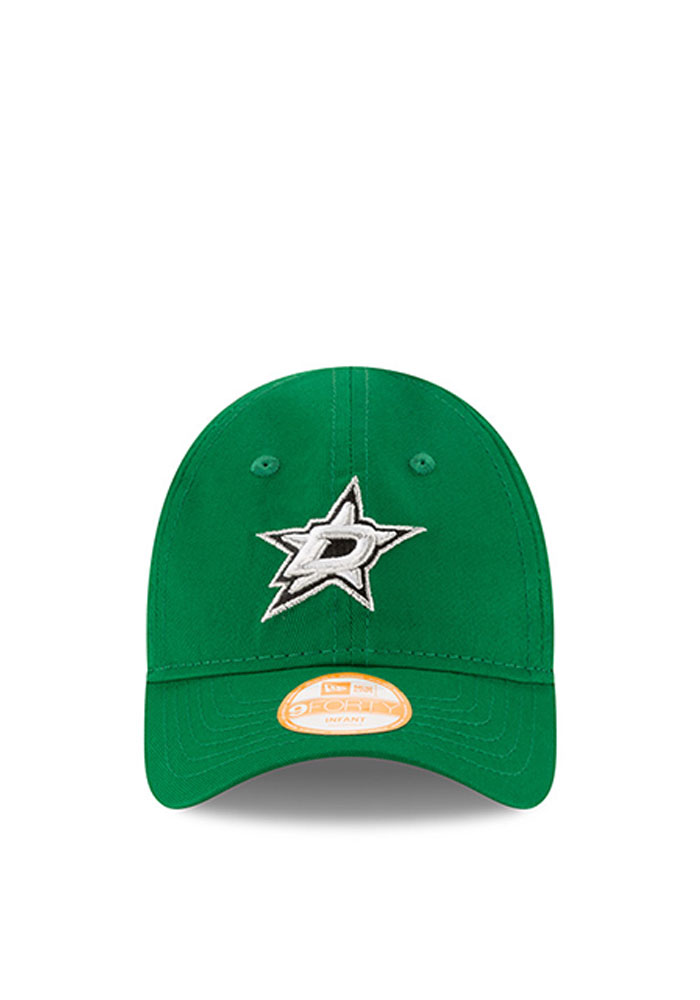 New Era Dallas Stars Baby My First 9Forty Adjustable Hat - Green - Image 2